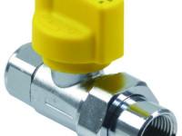 Kugla ventil za plin sa termičkom zaštitom